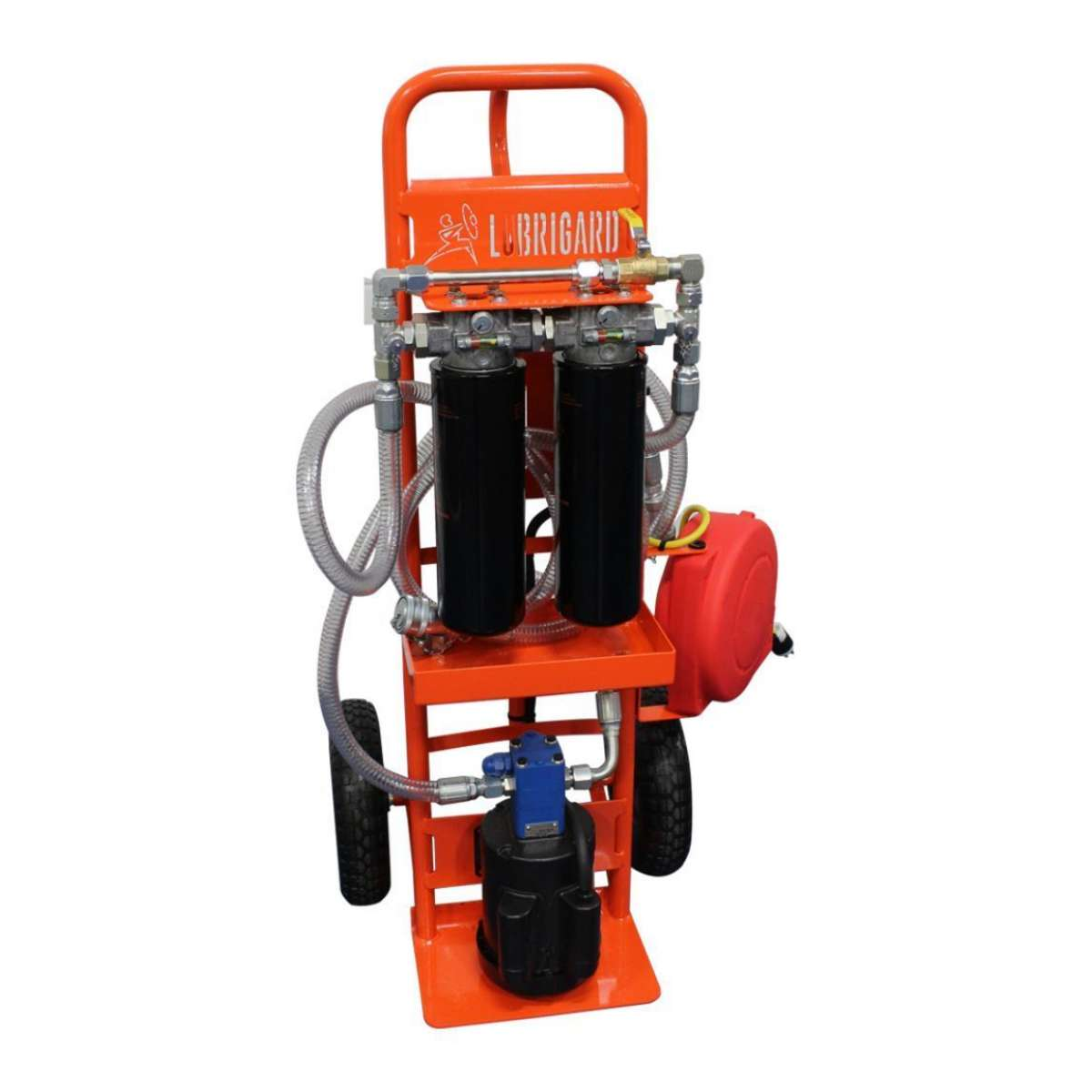 2 Wheeled Hand Truck Filter Cart