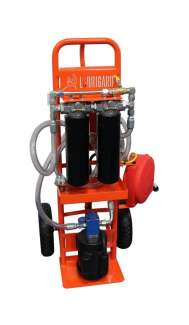 Standard FilterCart for Hydraulic Oil 5GPM 1HP D Series Hand Truck
