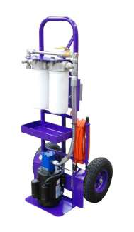Standard M Series FilterCart for Gear Oil 1HP 2GPM