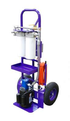 Standard M Series FilterCart for Hydraulic Oil 1HP 5GPM