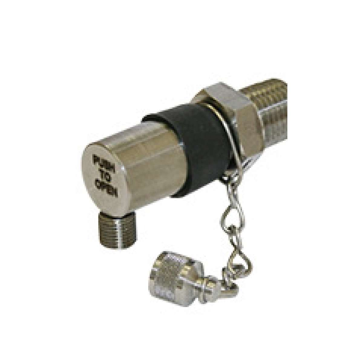 "KP series push button sampling valve, 1/8"" NPT"