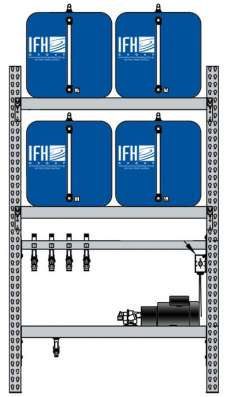 4 container system (2X2)