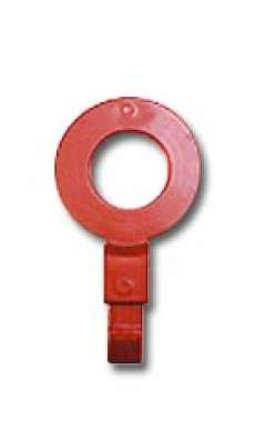 "Fill Point ID Washer (1/2"" BSP - Red)"
