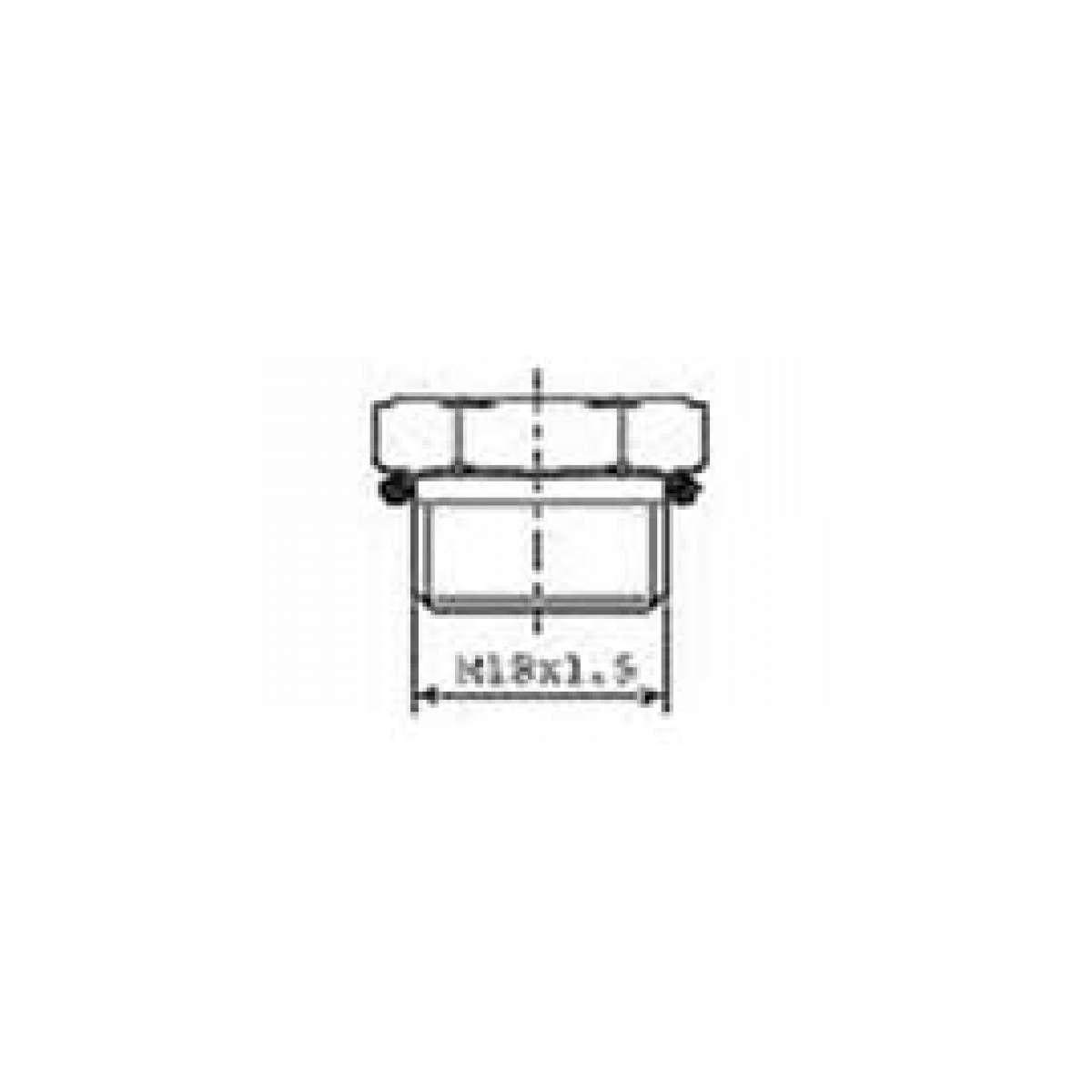 Gas generator (for 125 mL cartridge)