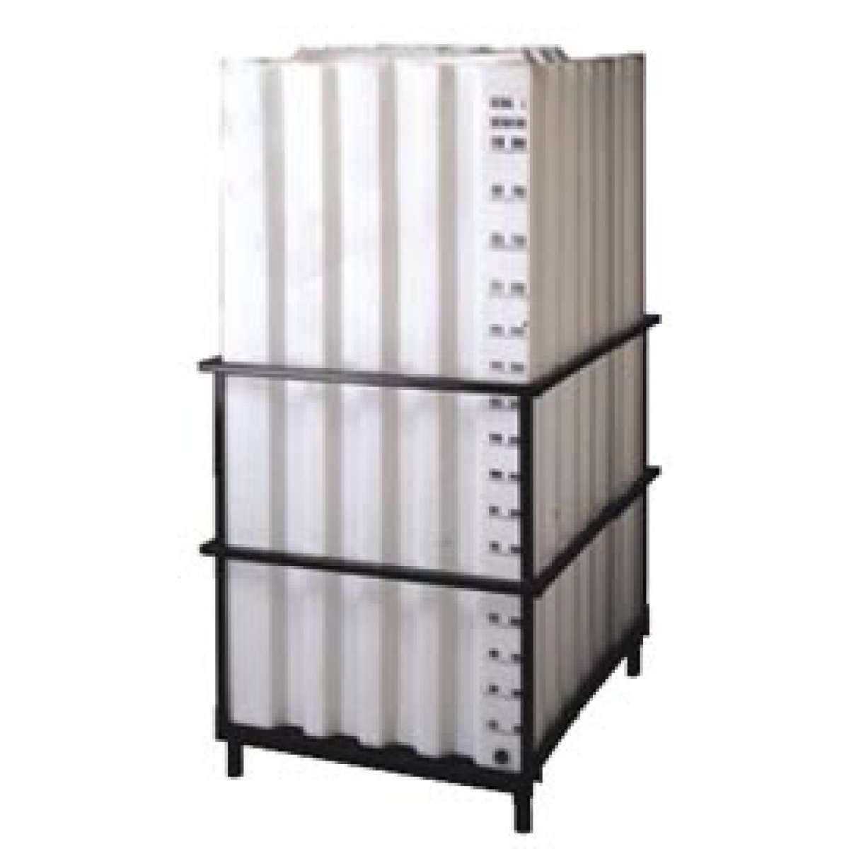 330 Gallon (1250 L) Poly Container with Frame