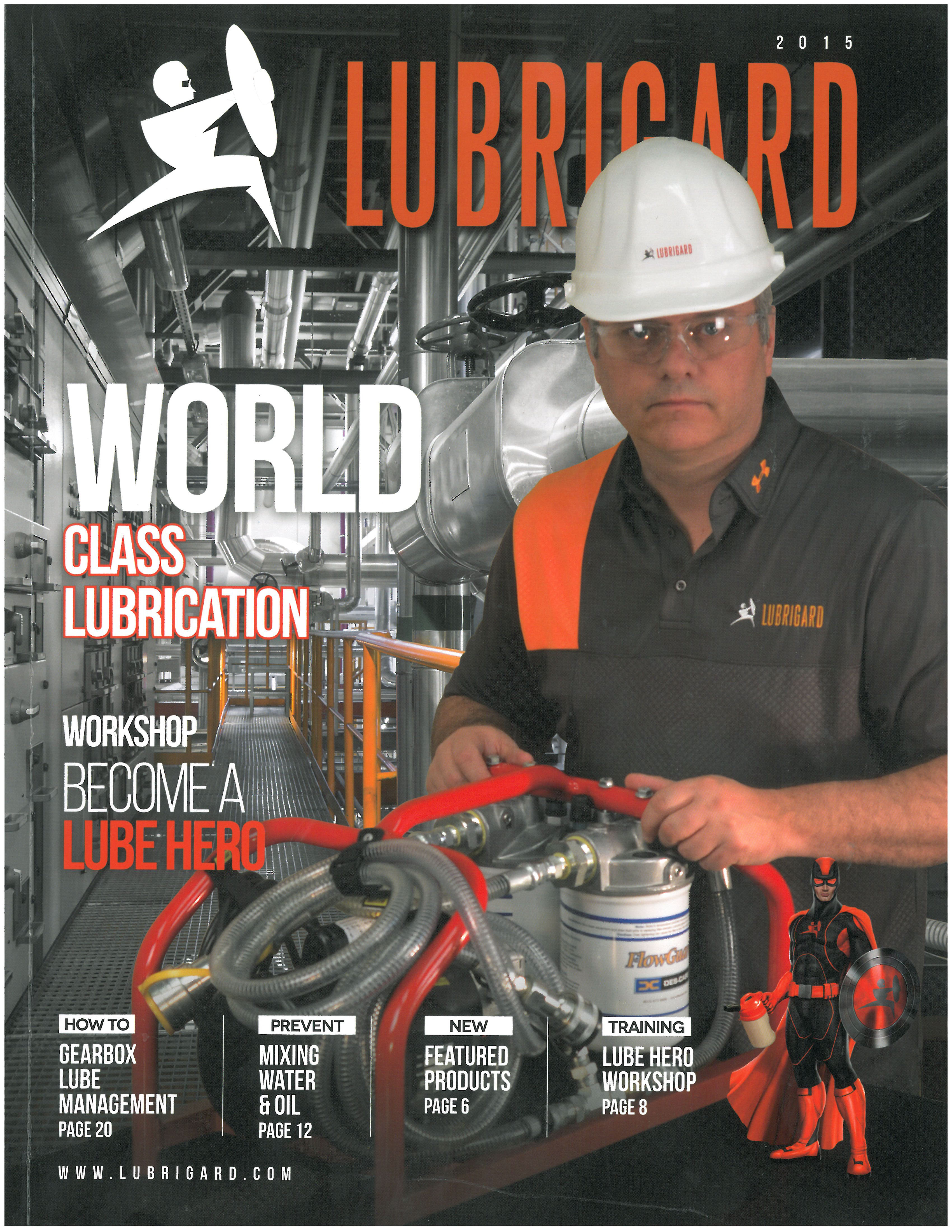 Lubrigard Magazine, Front Cover